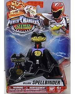 USA BANDAI POWER RANGERS DINO SUPER CHARGE 5インチアクションフィギュア VILLAIN SPELLBINDER