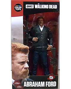 McFARLANE TOYS THE WALKING DEAD TV COLOR TOPS: RED WAVE 7インチアクションフィギュア ABRAHAM FORD