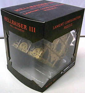 MEZCO HELLRAISER III: HELL ON EARTH LAMENT CONFIGURATION PUZZLE