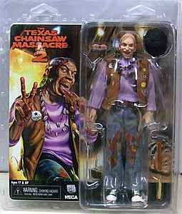 NECA THE TEXAS CHAINSAW MASSACRE PART 2 8インチドール CHOP TOP