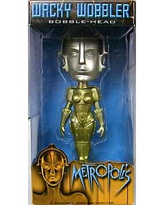 FUNKO WACKY WOBBLER METROPOLICE ANDROID MARIA [GOLD]