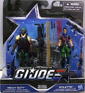 HASBRO G.I.JOE 2016 2PACK HEAVY CONFLICT