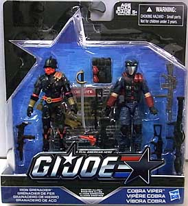 HASBRO G.I.JOE 2016 2PACK SINISTER ALLIES