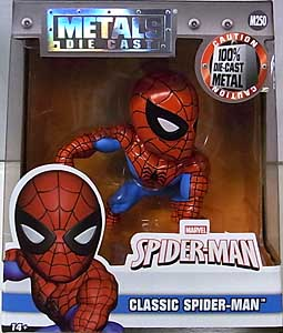 JADA TOYS SPIDER-MAN METALS DIE CAST 4インチフィギュア CLASSIC SPIDER-MAN