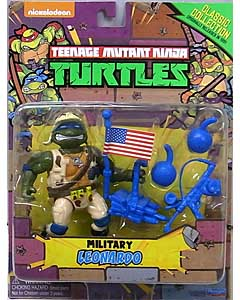 PLAYMATES TEENAGE MUTANT NINJA TURTLES CLASSIC COLLECTION ベーシックフィギュア MILITARY LEONARDO