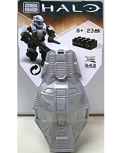 MEGA BLOKS HALO DROP POD METALLIC ODST [PLATINUM]
