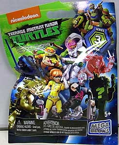 MEGA BLOKS NICKELODEON TEENAGE MUTANT NINJA TURTLES SERIES 3 1PACK