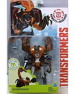 HASBRO アニメ版 TRANSFORMERS ROBOTS IN DISGUISE DELUXE CLASS SCORPONOK