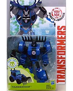 HASBRO アニメ版 TRANSFORMERS ROBOTS IN DISGUISE DELUXE CLASS THUNDERHOOF [NEW PACKAGE]