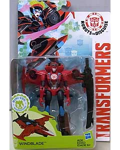 HASBRO アニメ版 TRANSFORMERS ROBOTS IN DISGUISE DELUXE CLASS WINDBLADE