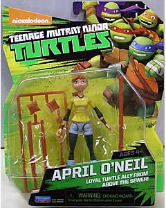 PLAYMATES NICKELODEON TEENAGE MUTANT NINJA TURTLES ベーシックフィギュア 2015 APRIL O'NEIL