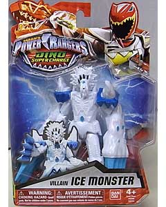USA BANDAI POWER RANGERS DINO SUPER CHARGE 5インチアクションフィギュア VILLAIN ICE MONSTER