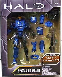 MATTEL HALO 6インチアクションフィギュア SPARTAN AIR ASSAULT [ALPHA CRAWLER SERIES]