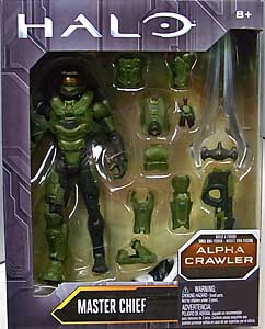 MATTEL HALO 6インチアクションフィギュア MASTER CHIEF [ALPHA CRAWLER SERIES]