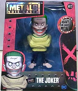 JADA TOYS METALS DIE CAST 4インチフィギュア 映画版 SUICIDE SQUAD THE JOKER [STRAITJACKET]