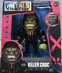 JADA TOYS METALS DIE CAST 4インチフィギュア 映画版 SUICIDE SQUAD KILLER CROC [HOODED]