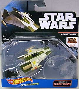 MATTEL HOT WHEELS STAR WARS REBELS DIE-CAST VEHICLE A-WING FIGHTER 台紙傷み特価