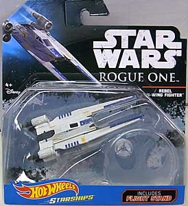 MATTEL HOT WHEELS STAR WARS ROGUE ONE DIE-CAST VEHICLE REBEL U-WING FIGHTER