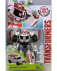 HASBRO アニメ版 TRANSFORMERS ROBOTS IN DISGUISE DELUXE CLASS AUTOBOT RATCHET