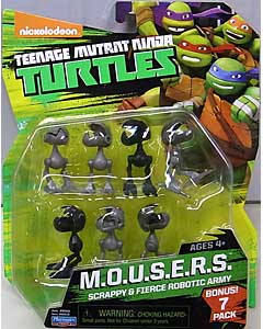 PLAYMATES NICKELODEON TEENAGE MUTANT NINJA TURTLES ベーシックフィギュア 2015 M.O.U.S.E.R.S.