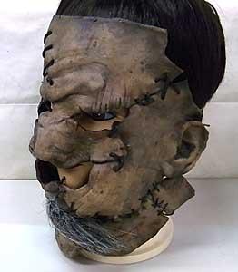 個人ハンドメイド品 THE TEXAS CHAINSAW MASSACRE 2 LEATHERFACE ラバーマスク