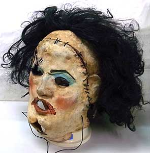個人ハンドメイド品 THE TEXAS CHAINSAW MASSACRE LEATHERFACE ラバーマスク [LADY MASK]