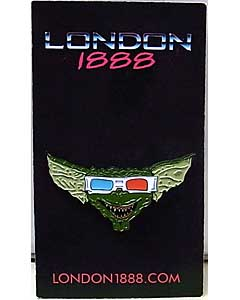 LONDON 1888 エナメルピン 3D GREMLIN