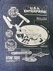 STAR TREK /スタートレック/エンタープライズ NCC-1701  (ブルー)