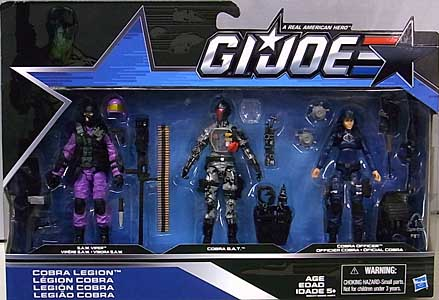 HASBRO G.I.JOE 2016 3PACK COBRA LEGION