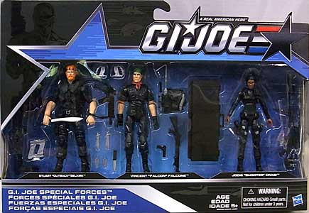 HASBRO G.I.JOE 2016 3PACK G.I.JOE SPECIAL FORCES