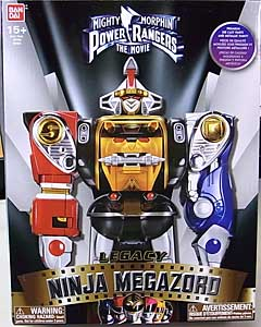 USA BANDAI POWER RANGERS MIGHTY MORPHIN LEGACY NINJA MEGAZORD
