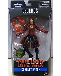 HASBRO MARVEL LEGENDS 2016 CAPTAIN AMERICA SERIES 3.0 映画版 CAPTAIN AMERICA: CIVIL WAR SCARLET WITCH [ABOMINATION SERIES] パッケージ傷み特価