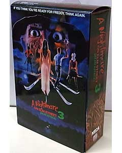 NECA A NIGHTMARE ON ELM STREET 3 DREAM WARRIORS 7インチアクションフィギュア ULTIMATE FREDDY KRUEGER