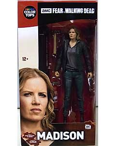 McFARLANE TOYS FEAR THE WALKING DEAD TV COLOR TOPS: RED WAVE 7インチアクションフィギュア MADISON