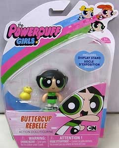SPIN MASTER THE POWERPUFF GIRLS 2インチアクションドール BUTTERCUP REBELLE