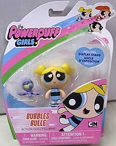 SPIN MASTER THE POWERPUFF GIRLS 2インチアクションドール BUBBLES BULLE