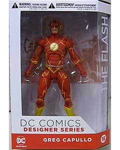 DC COLLECTIBLES DC COMICS DESIGNER SERIES GREG CAPULLO THE FLASH