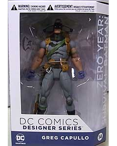 DC COLLECTIBLES DC COMICS DESIGNER SERIES GREG CAPULLO ZERO YEAR SURVIVAL BATMAN