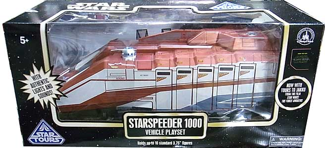 STAR WARS USAディズニーテーマパーク限定 STAR TOURS STARSPEEDER 1000 VEHICLE PLAYSET