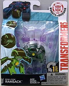 HASBRO アニメ版 TRANSFORMERS ROBOTS IN DISGUISE MINI-CON RANSACK