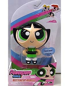 SPIN MASTER THE POWERPUFF GIRLS ACTION EYES DOLL BUTTERCUP REBELLE パッケージ傷み特価