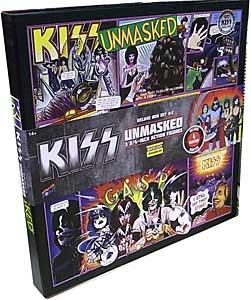 2016年 サンディエゴ・コミコン限定 BIF BANG POW! KISS UNMASKED 3.75インチアクションフィギュア DELUXE BOX SET