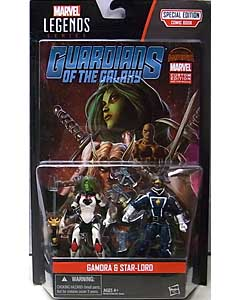 HASBRO MARVEL LEGENDS SERIES 2016 3.75インチアクションフィギュア COMIC PACK GAMORA & STAR-LORD