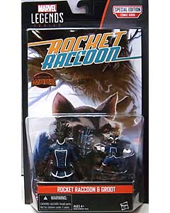 HASBRO MARVEL LEGENDS SERIES 2016 3.75インチアクションフィギュア COMIC PACK ROCKET RACCOON & GROOT