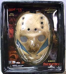 NECA FRIDAY THE 13TH PART V: A NEW BEGINNING JASON MASK PROP REPLICA