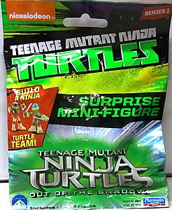 PLAYMATES NICKELODEON TEENAGE MUTANT NINJA TURTLES & 映画版 TEENAGE MUTANT NINJA TURTLES: OUT OF THE SHADOWS SURPRISE MINI-FIGURES SERIES1 1PACK