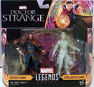 HASBRO MARVEL LEGENDS SERIES 2017 3.75インチアクションフィギュア 2PACK 映画版 DOCTOR STRANGE DOCTOR STRANGE & ASTRAL DOCTOR STRANGE