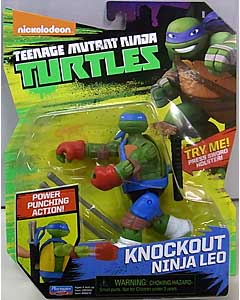PLAYMATES NICKELODEON TEENAGE MUTANT NINJA TURTLES ベーシックフィギュア 2017 KNOCKOUT NINJA LEO