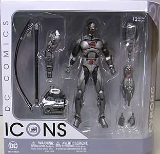 DC COLLECTIBLES DC COMICS ICONS CYBORG