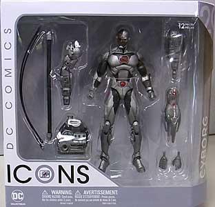 DC COLLECTIBLES DC COMICS ICONS CYBORG
